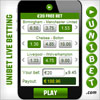Bet on your mobile at Unibet