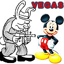 fewer tourists gamble in Vegas