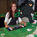 Woman robs blackjack charity for children