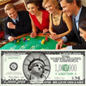 Play blackjack to win a million bucks