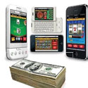 Mobile gambling revenues to grow