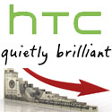HTC revenues on the decline