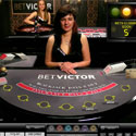 Live casino studio from BetVictor