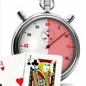 Blackjack online illustration