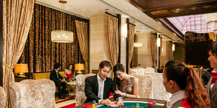 Macau gambling tables