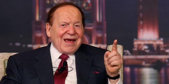 Sheldon Adelson amongst the biggest donors