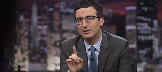 Last Week Tonight with John Oliver will return in 2015