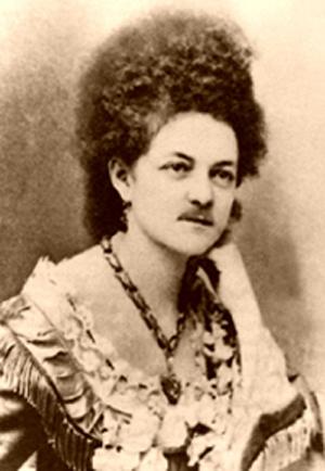 Eleanor Dumont moustache lady blackjack