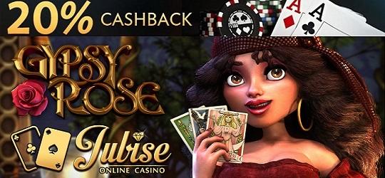 Jubise Casino Monday Mayhem Gypsy Rose Cashback Slot