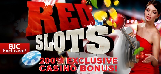 RedSlots Casino Welcome exclusive Casino Bonus Blackjackchamp