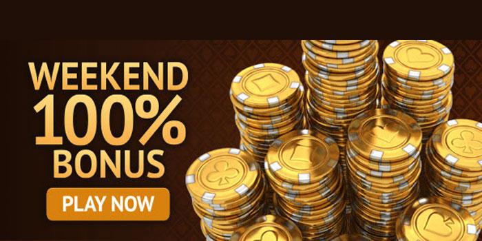 jubise casino weekend bonus