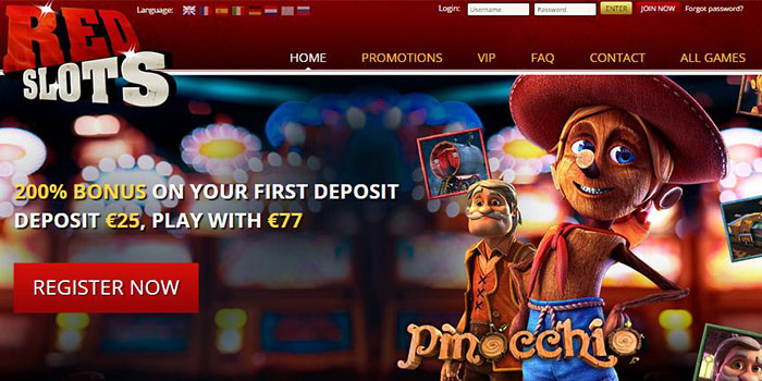 redslots exclusive offer