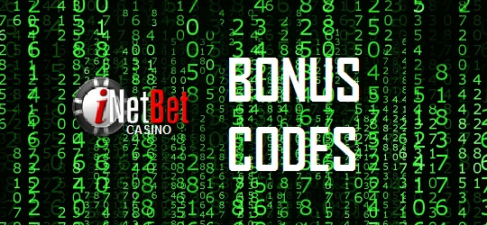 iNetBet Casino codes for bonuses