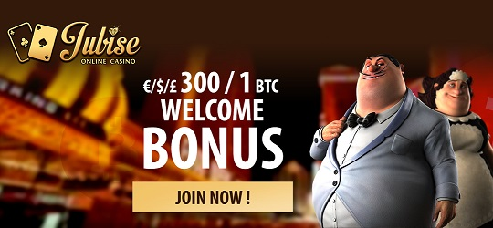 Jubise welcome new player bonus