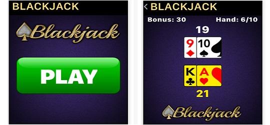 Apple watch blackjack MobilityWare