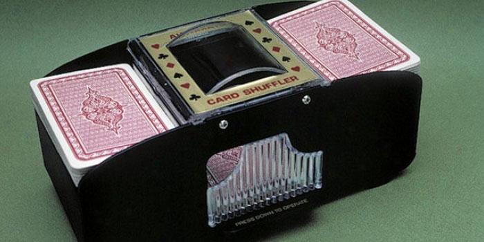 cards shuffler blackjack counting