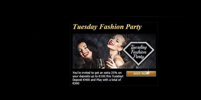 fashion tv casino tuesday promotion