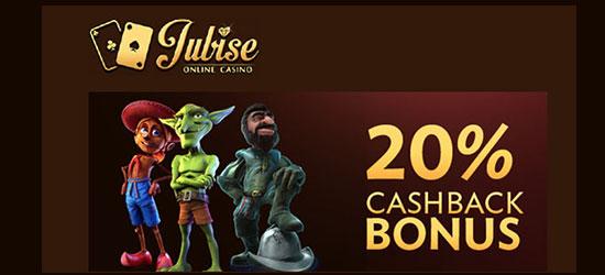 jubise cashback bonus