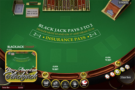 VIP Multihand Blackjack Tournament - New American Blackjack